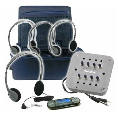 Hamilton Electronics 4 Person Portable MP3 Listening Center