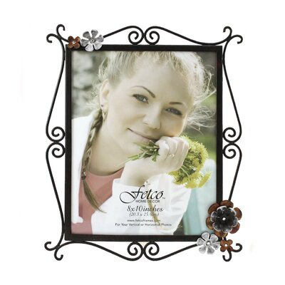 Fetco Home Decor Petals Lowndes Burnished Picture Frame
