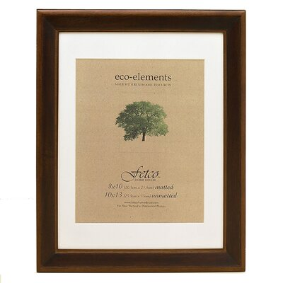 Fetco Home Decor Eco Woods Sierra Matted Wall Picture Frame