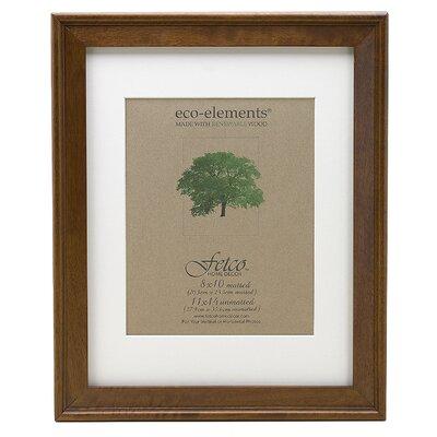 fetco home decor eco woods jackson walnut picture frame wayfair