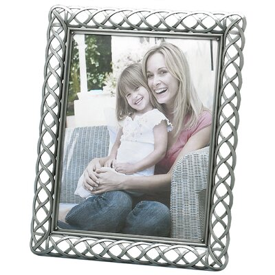 Fetco Home Decor Fashion Metals Claremont Picture Frame