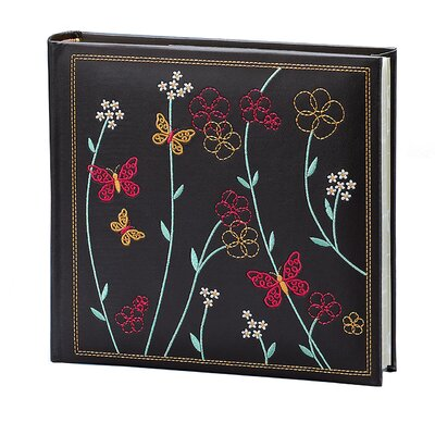 Fetco Home Decor Raven Floral Vine Picture Album