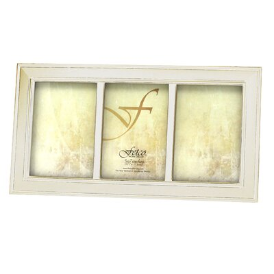 Fetco Home Decor Longwood Triple Photo Frame