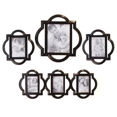 Rowhouse Suzanne Quatrefoil Wall Art Set
