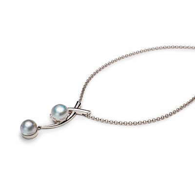Sterling Silver Paloma Inspired Pearl Necklace
