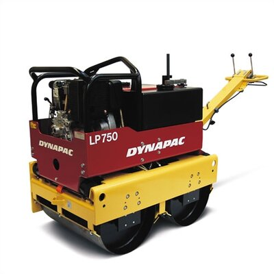 "Dynapac 30"" Walk-Behind Roller w/ Hatz Supra 1D81S 12.0 HP Electric Start Diesel Engine"