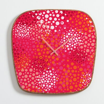 DENY Designs Khristian A Howell Brady Dots 2 Clock