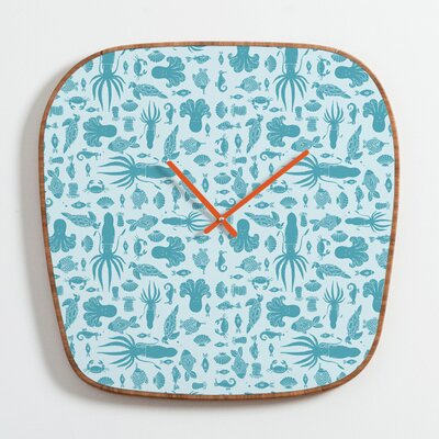 DENY Designs Jennifer Denty Sea Creatures Clock