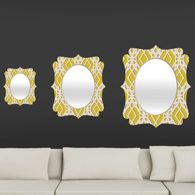 DENY Designs Aimee St Hill Diamonds Quatrefoil Mirror