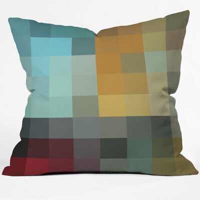 DENY Designs Madart Inc  Refreshing 2 Indoor / Outdoor Polyester Throw Pillow