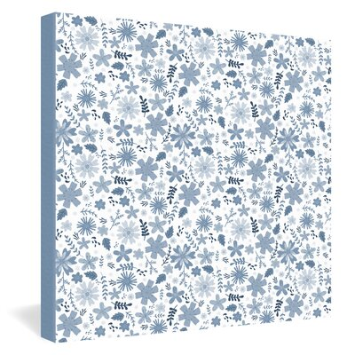 DENY Designs Jennifer Denty Genevieve Florals Big Canvas Wall Art