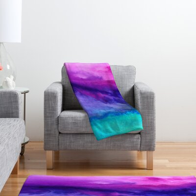 DENY Designs Jacqueline Maldonado The Sound Polyester Fleece Throw Blanket