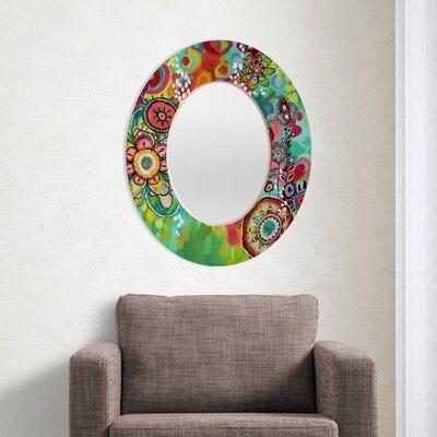 DENY Designs Stephanie Corfee Miss Ariel Oval Mirror