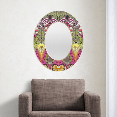 DENY Designs Sharon Turner Aphrodites Garden Oval Mirror