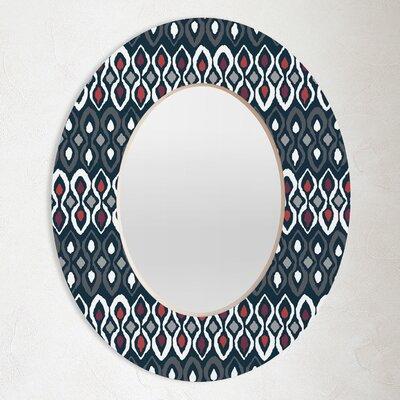 DENY Designs Sharon Turner Pepper Pestle Oval Mirror