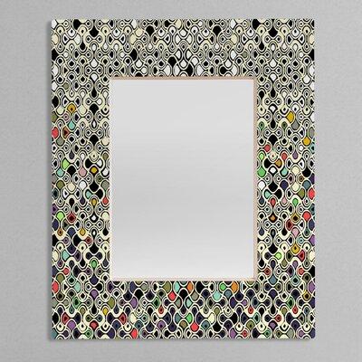 DENY Designs Sharon Turner Cellular Ombre Rectangular Mirror
