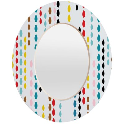 DENY Designs Khristian A Howell Nolita Drops Oval Mirror