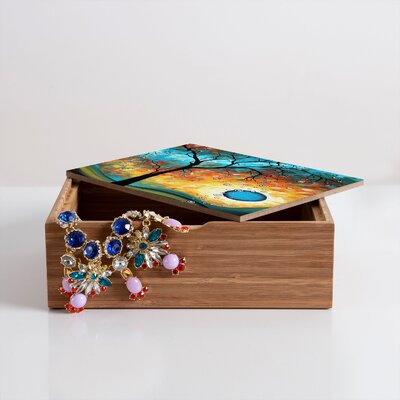DENY Designs Madart Inc. Aqua Burn Box