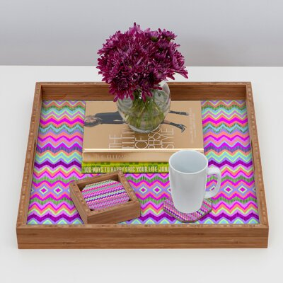 DENY Designs Amy Sia Chevron 2 Coaster