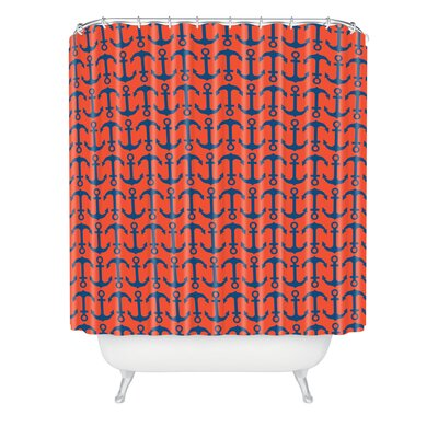 DENY Designs Andrea Victoria Ahoy Anchors Shower Curtain
