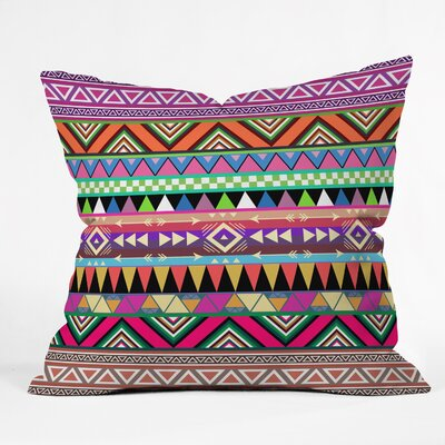 DENY Designs Bianca Green Overdose Woven Polyester Throw Pillow
