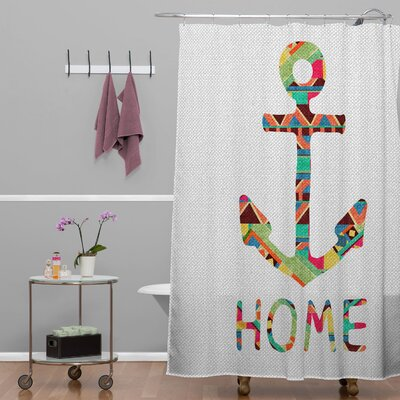 DENY Designs Bianca Woven Polyester You Make Me Home Shower Curtain