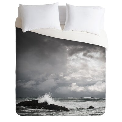 DENY Designs Bird Wanna Whistle White Water Duvet Cover Collection