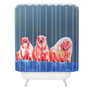 DENY Designs Clara Nilles Woven Polyester Shower Curtain