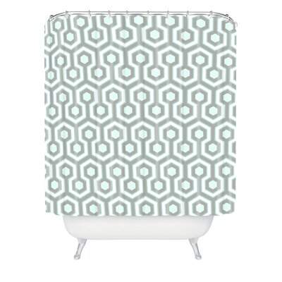 DENY Designs Caroline Okun Polyester Icicle Shower Curtain