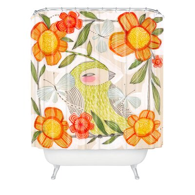 DENY Designs Cori Dantini Woven Polyester Fine Comanions Shower Curtain