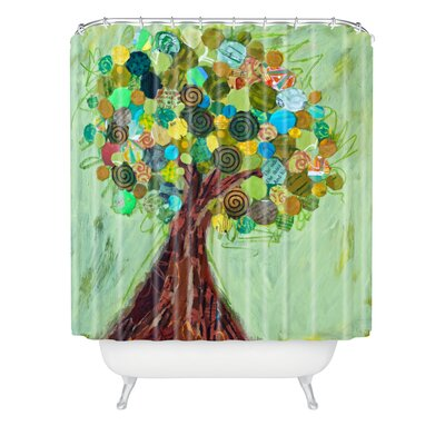 DENY Designs Elizabeth St Hilaire Nelson Spring Tree Polyester Shower Curtain