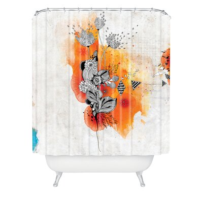 DENY Designs Iveta Abolina Polyester Forbbiden Thoughts Shower Curtain