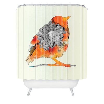 DENY Designs Iveta Abolina Polyester Bird Shower Curtain