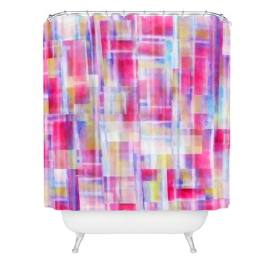 DENY Designs Jacqueline Maldonado Woven Polyester Space Between Shower Curtain