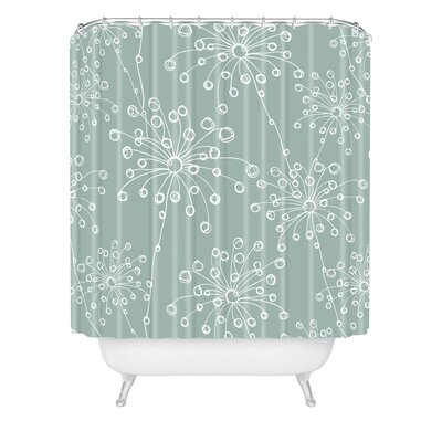 Rachael Taylor Polyester Quirky Motifs Shower Curtain