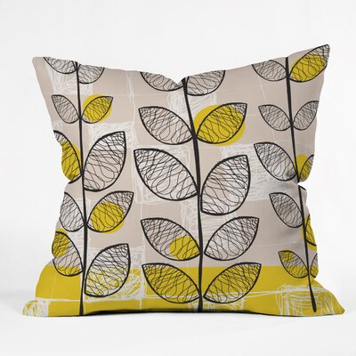 DENY Designs Rachael Taylor Inspired Indoor / Outdoor Polyester Throw Pillow