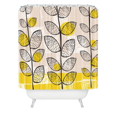 DENY Designs Rachael Taylor Polyester 50s Inspired Shower Curtain