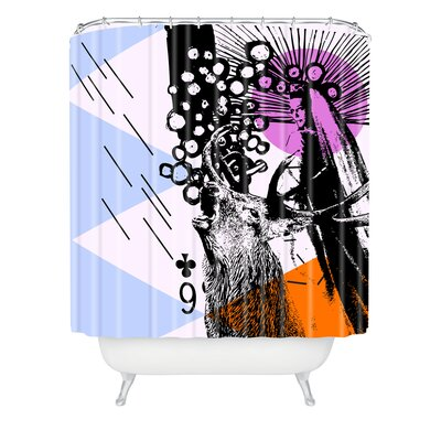 DENY Designs Randi Antonsen Polyester Poster Hero 3 Shower Curtain