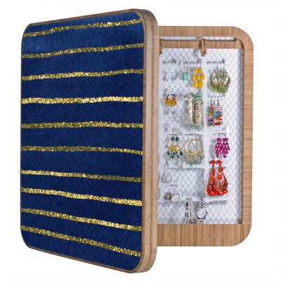 DENY Designs Social Proper Nautical Sparkle Jewelry Box