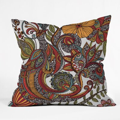 DENY Designs Valentina Ramos Paradise Bird Indoor/Outdoor Polyester Throw Pillow