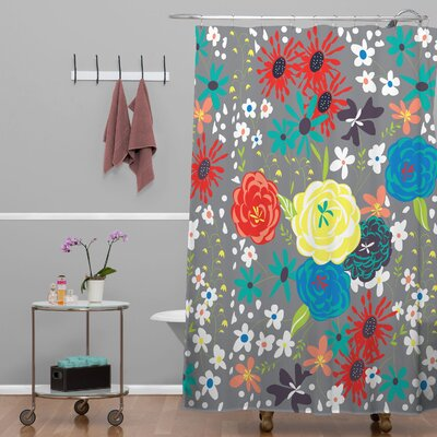 DENY Designs Vy La Blooming Love Shower Curtain