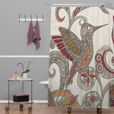 DENY Designs Valentina Ramos Polyester Flying Shower Curtain