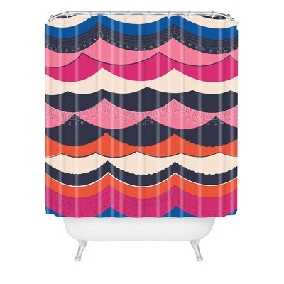 DENY Designs Vy La Unwavering Love Shower Curtain
