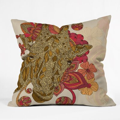 DENY Designs Valentina Ramos The Giraffe Polyester Throw Pillow