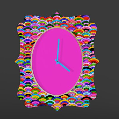 DENY Designs Fimbis A Good Day Wall Clock