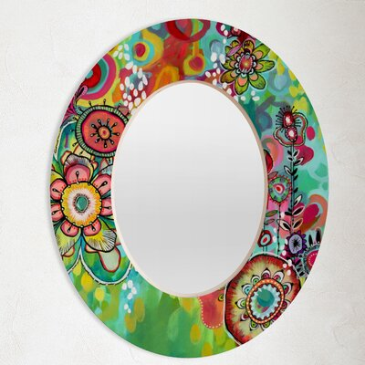 DENY Designs Stephanie Corfee Miss Ariel Oval Mirror