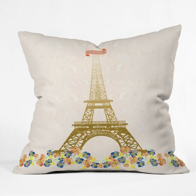 DENY Designs Jennifer Hill Woven Polyester Throw Pillow