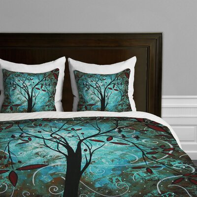 DENY Designs Madart Inc Romantic Evening Microfiber Duvet Cover