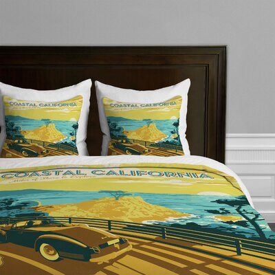 DENY Designs Anderson Design Group Coastal California Microfiber Duvet Cover