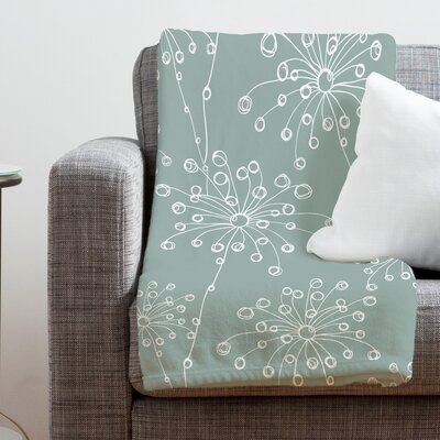 DENY Designs Rachael Taylor Quirky Motifs Polyester Fleece  Throw Blanket